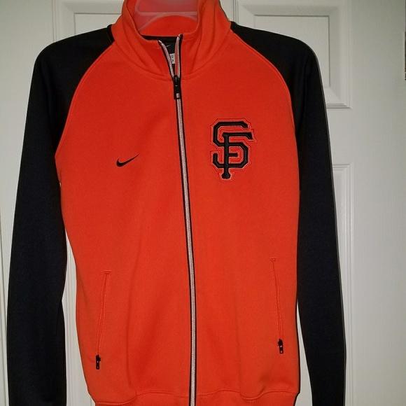 factory authentic 4a29e c473a BNWOT Nike / San Francisco Giants zip jacket